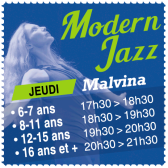 MODERN JAZZ au Rocking Club 91 - association multi danses basée à Yerres (91)
