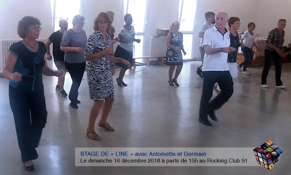 Stage de line - Rocking Club 91